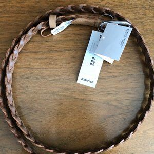 Old Navy braided brown belt